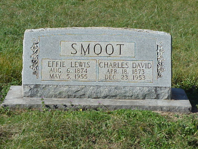 Effie Felicia <i>Lewis</i> Smoot