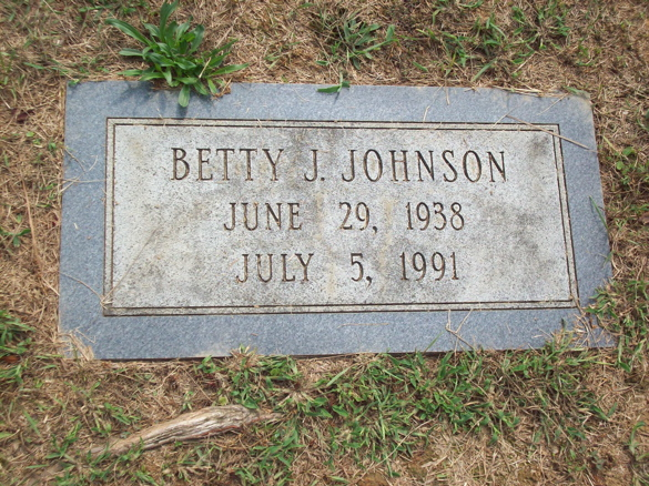 Betty June Johnson
