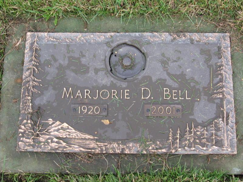 Marjorie Ann <i>Darr</i> Bell