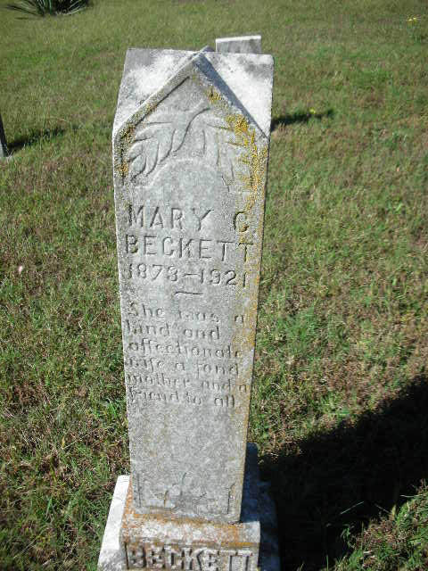 Mary Catherine <i>Orrick</i> Beckett