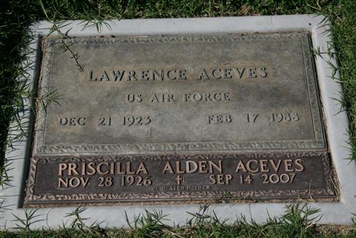 Priscilla <i>Alden</i> Aceves