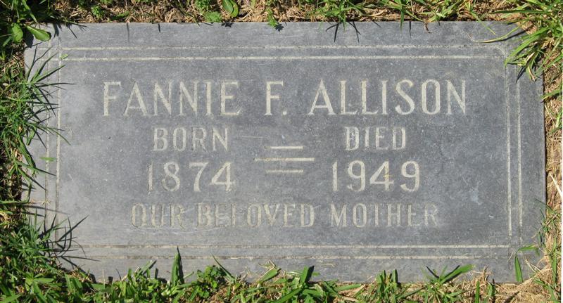Fannie F Allison