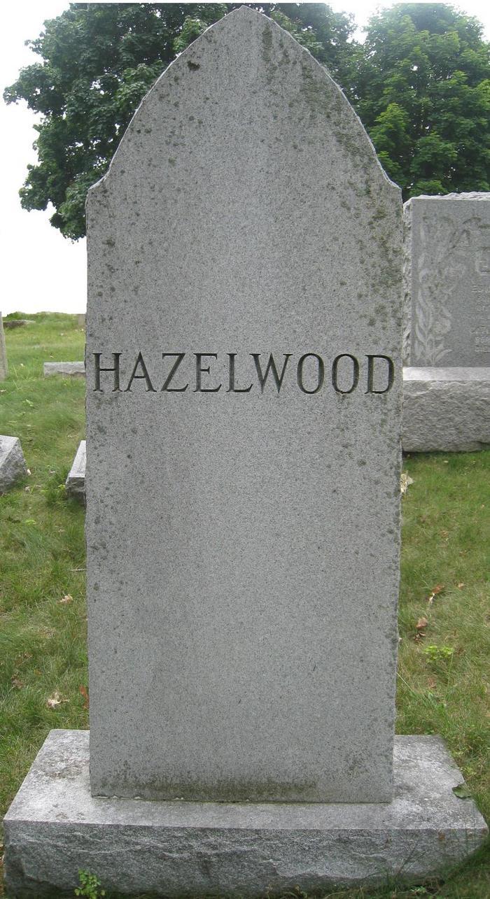 Sarah Sophia <i>James</i> Hazelwood