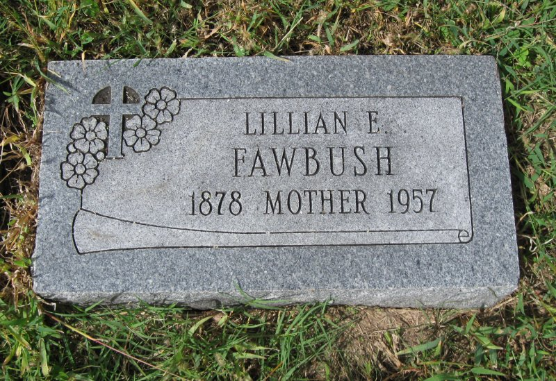 Lillian Emma <i>Harvey</i> Fawbush