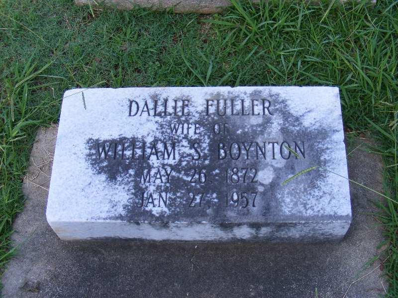 Dallie <i>Fuller</i> Boynton