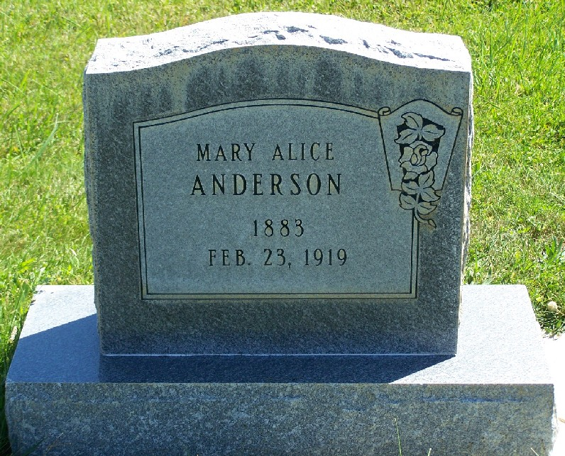 Mary Alice <i>Eads</i> Anderson