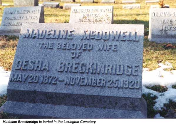 Madeline <i>McDowell</i> Breckinridge