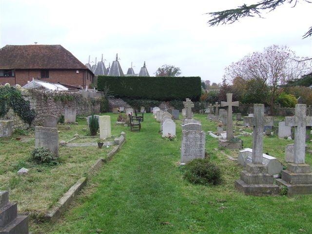 East Farleigh Parish Churchyard