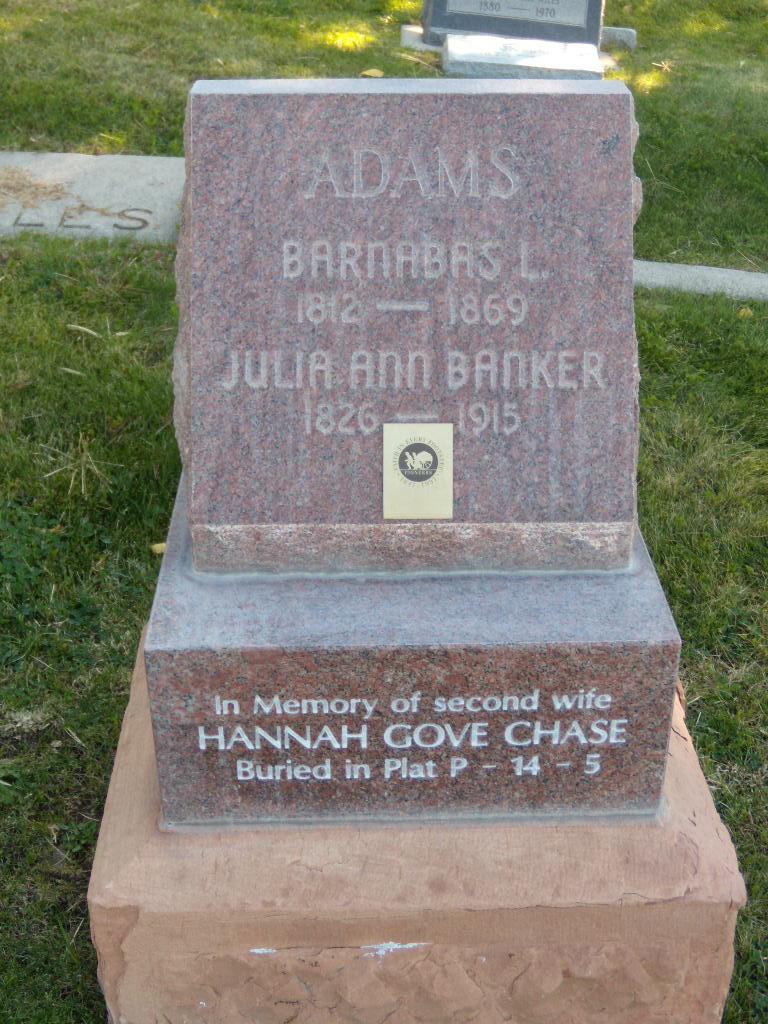 Hannah Gove <i>Chase</i> Adams