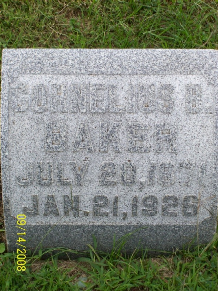 Cornelius B. Baker
