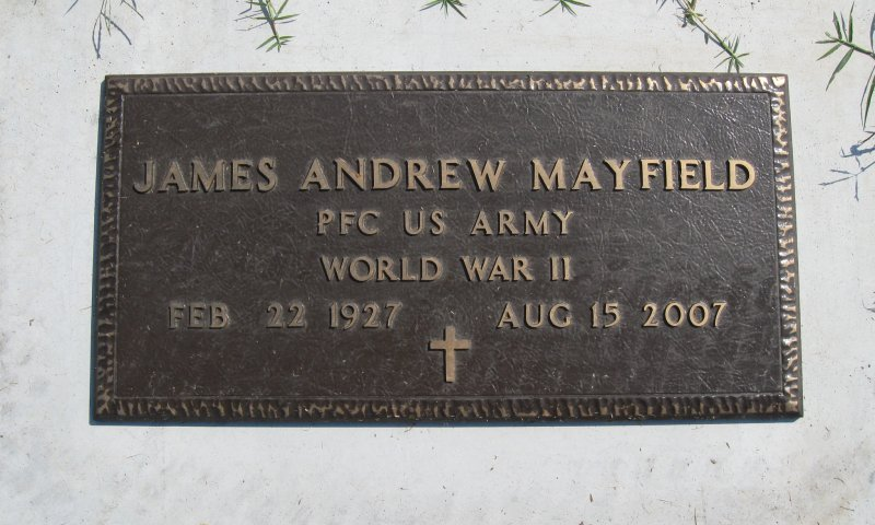 James Andrew Mayfield