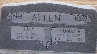 Eliza Jane <i>Dawes</i> Allen