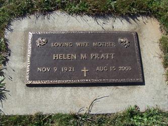 Helen M <i>Dobson</i> Pratt