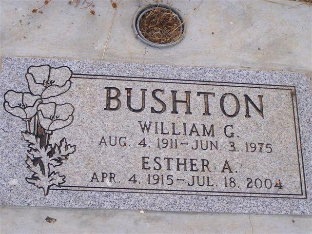 Esther A <i>Fantz</i> Bushton