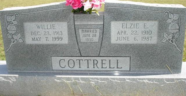 Willie <i>McGee</i> Cottrell