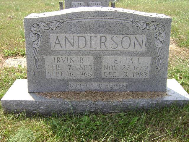 Etta I. <i>Thurmond</i> Anderson