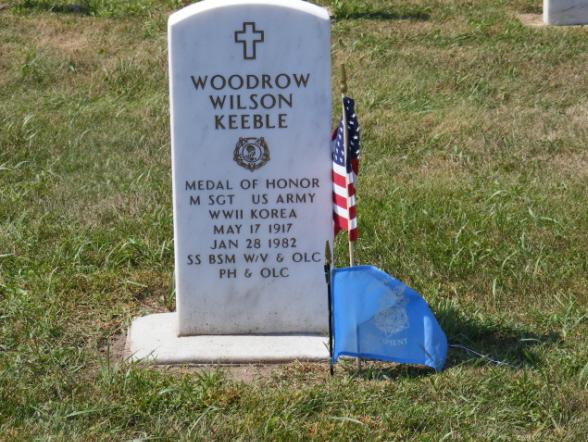 Woodrow Wilson Keeble