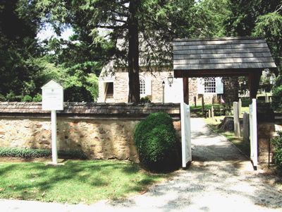 Old Saint David Church Cemetery