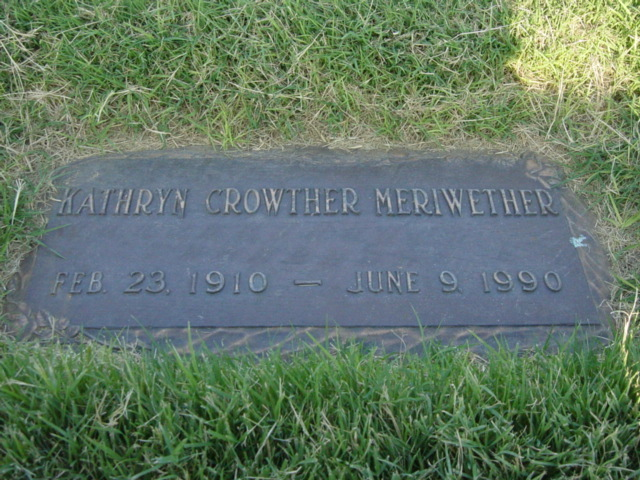 Kathryn <i>Crowther</i> Meriwether