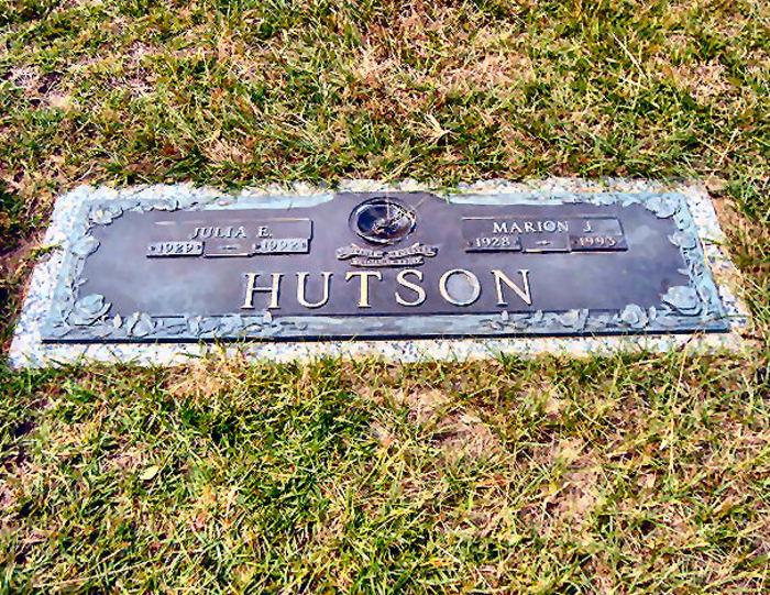 Julia E. <i>Davis</i> Hutson