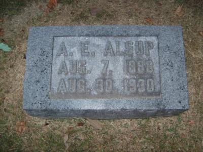A. E. Alsup