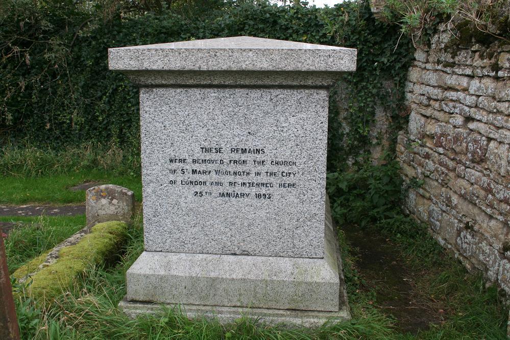 John Newton Tombstone