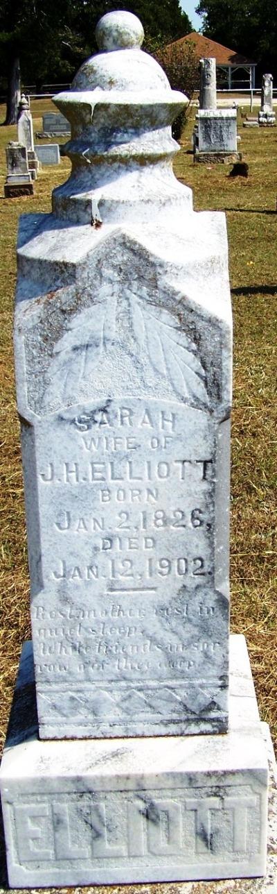 Sarah <i>Burnham</i> Elliott