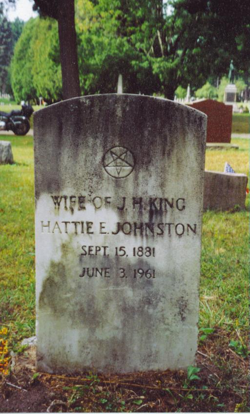 Hattie E. <i>Johnston</i> King