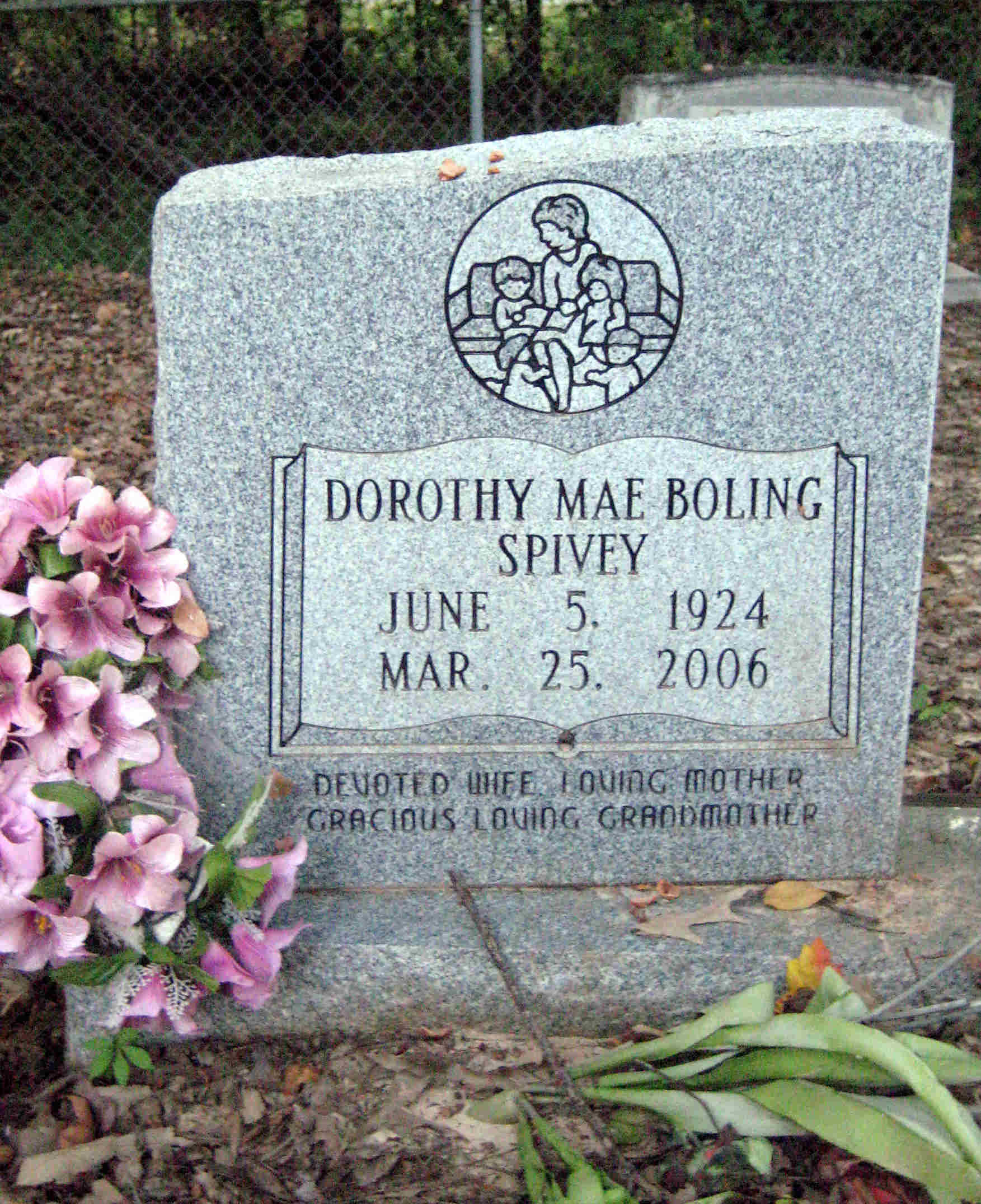 Ina Mae Spivey Delightful dorothy mae boling spivey (1924-2006) - find a grave memorial