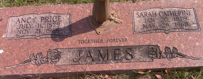 Sarah Catherine Katie <i>Westbrook</i> James