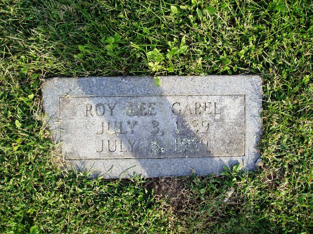 Roy Lee Gabel