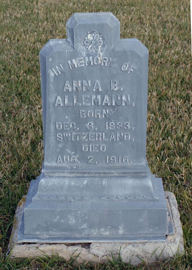 Annie Barbara Alleman