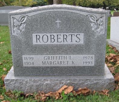 Griffith Lloyd Roberts, Sr