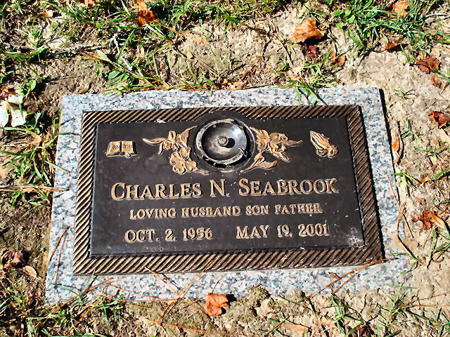 Charles N Seabrook 1956 2001 Find A Grave Memorial