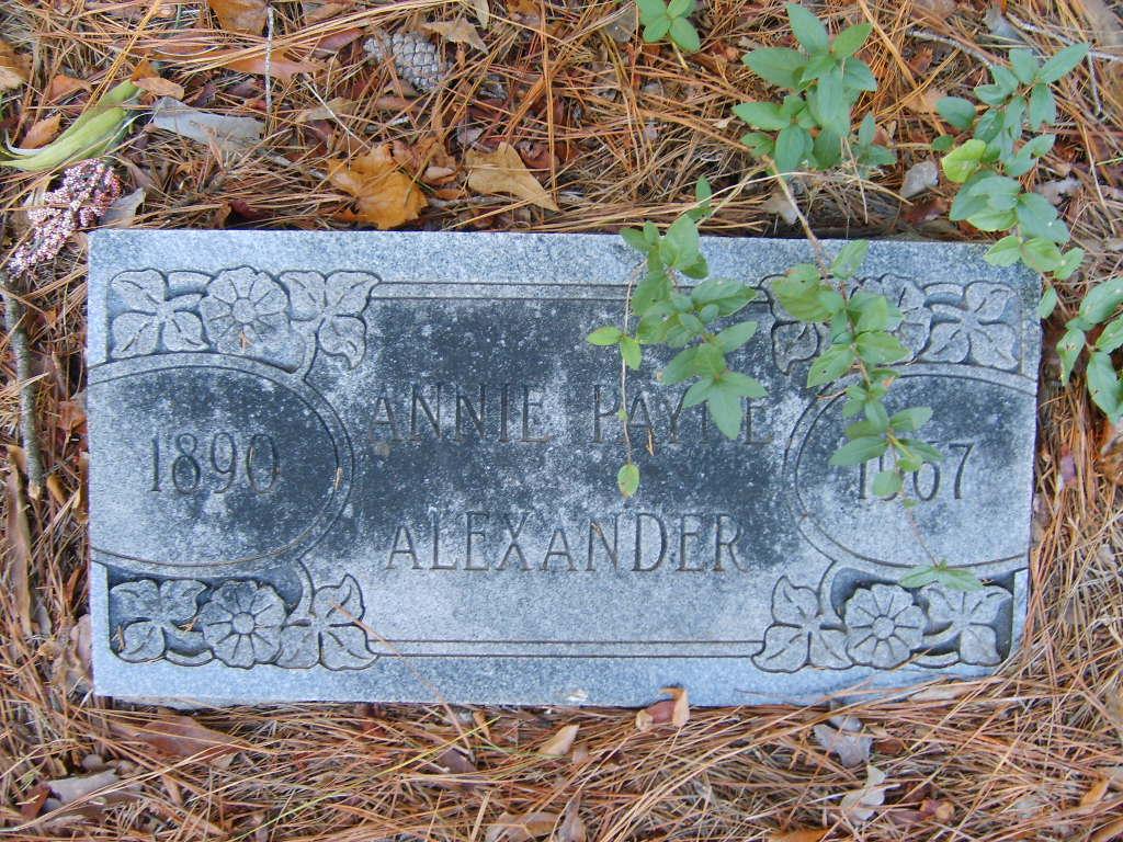 Annie <i>Payne</i> Alexander