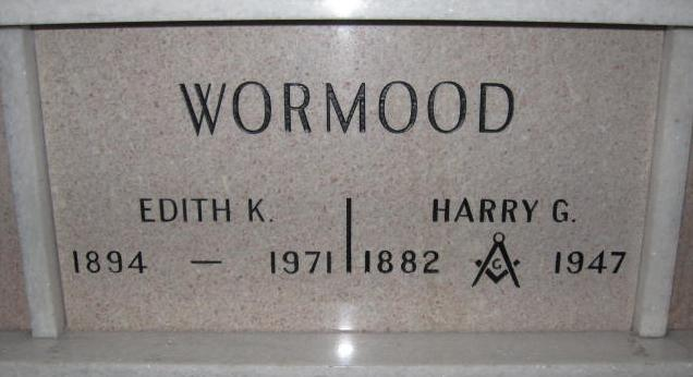 Harry Gilbert Wormood