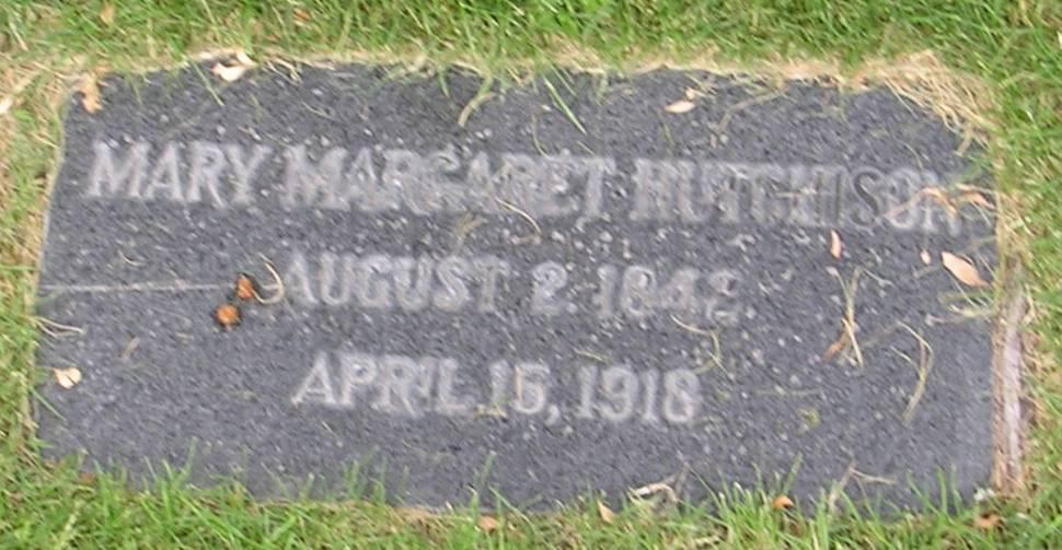 Mary Margaret <i>Kinkade</i> Hutchison