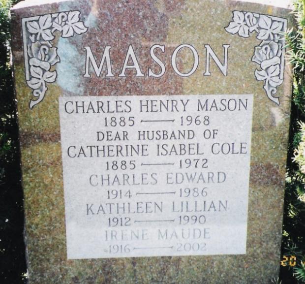 Katherine Isabel Katie Belle <i>Cole</i> Mason