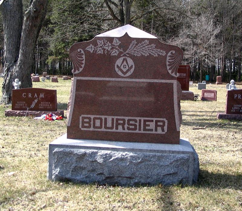 Mary S <i>Young</i> Boursier