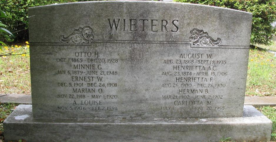 August W Wieters