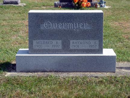 Mildred E. <i>Dinsmore</i> Overmyer
