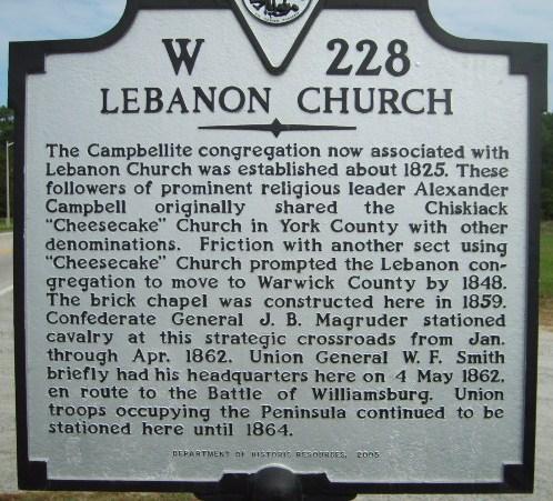 Lebanon Church of Christ Cemetery