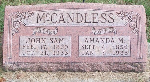 Amanda Melvina Manda <i>Collins</i> McCandless