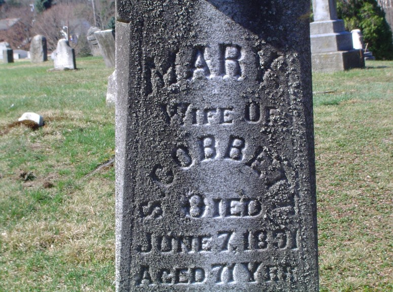 Mary Ann <i>Griffeth</i> Cobbett
