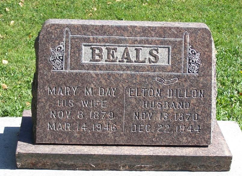 Mary M <i>Day</i> Beals