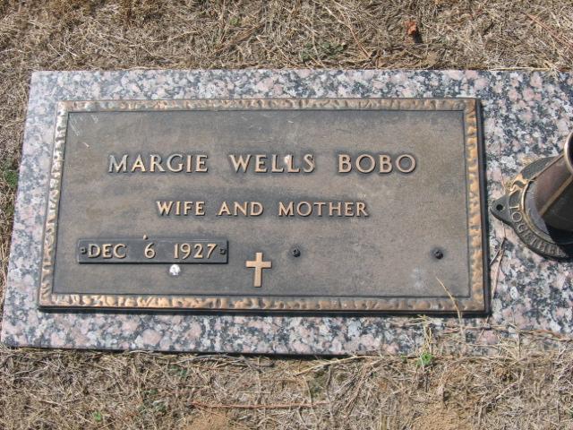 Margie <i>Wells</i> Bobo