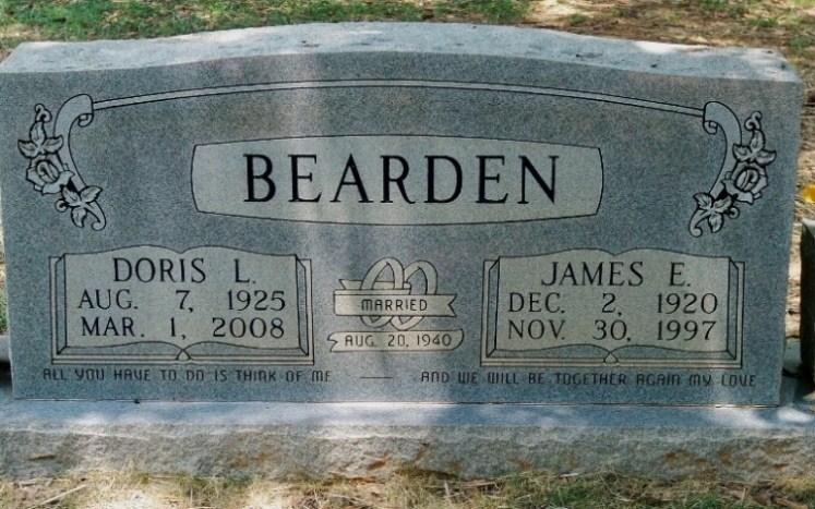 Doris Mildred <i>Langston</i> Bearden