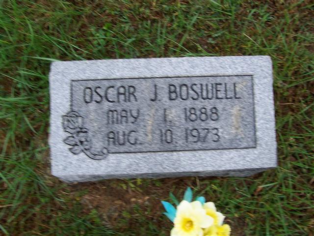Oscar James Boswell