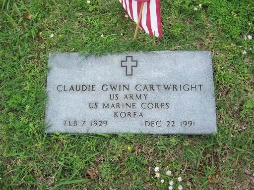 Claudie Gwin Cartwright