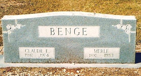 Merle <i>DeRossett</i> Benge